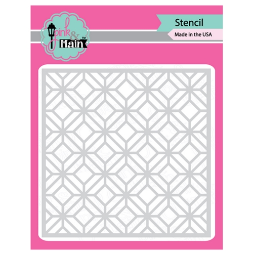 Pink and Main GARDEN GATE Stencil PMS012 Preview Image