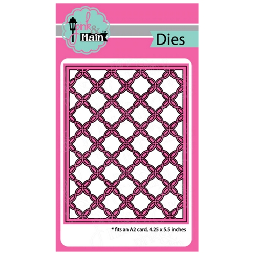 Pink and Main FANCY LATTICE Cover Die PNM257 Preview Image