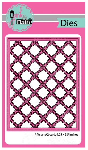 Pink and Main FANCY LATTICE Cover Die PNM257 zoom image