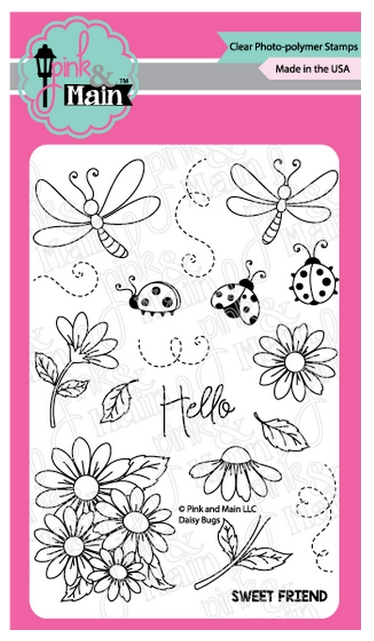 Pink and Main DAISY BUGS Clear Stamps PM0383 zoom image