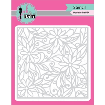 Pink and Main DAISIES Stencil PMS011