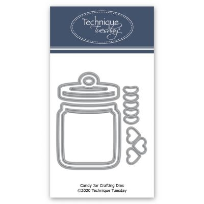 Technique Tuesday CANDY JAR Crafting Dies 2659* Preview Image