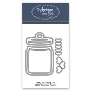 Technique Tuesday CANDY JAR Crafting Dies 2659