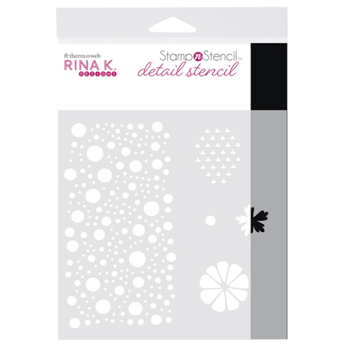 Therm O Web Rina K Designs SENDING SUNSHINE Detail Stencil 18156 Preview Image