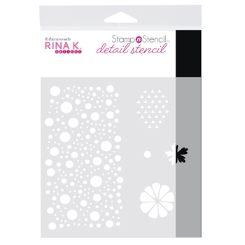 Therm O Web Rina K Designs SENDING SUNSHINE Detail Stencil 18156