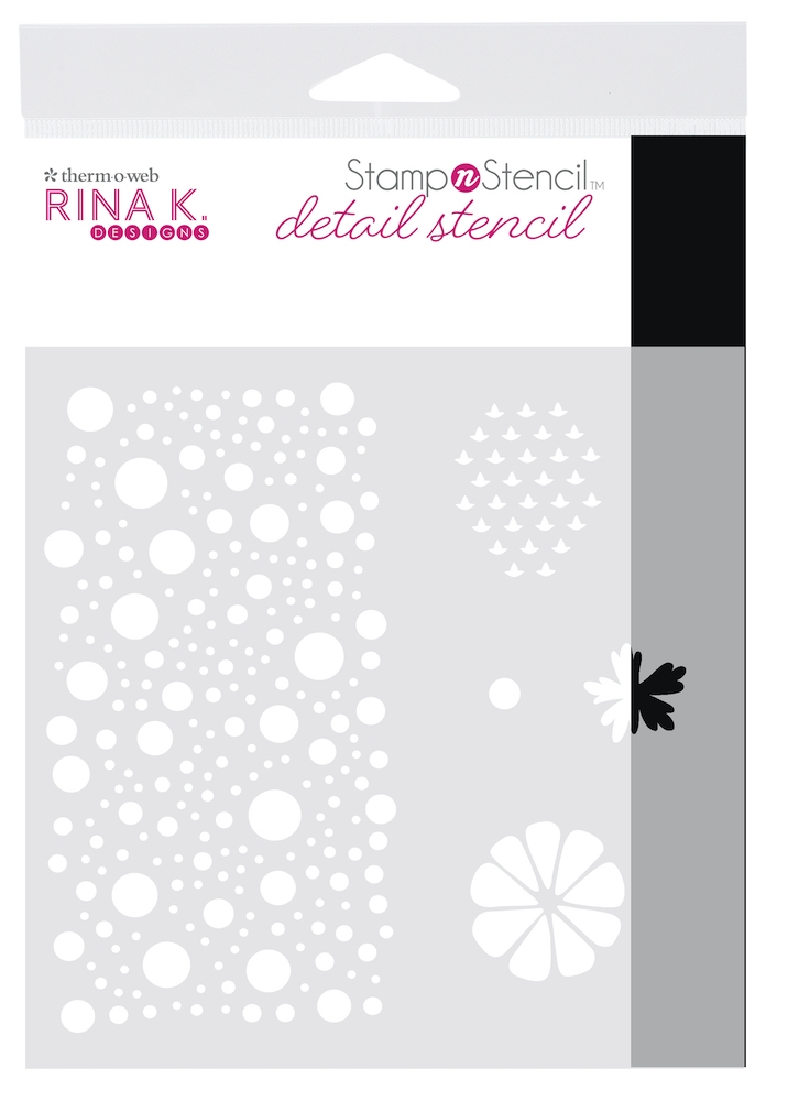 Therm O Web Rina K Designs SENDING SUNSHINE Detail Stencil 18156 zoom image