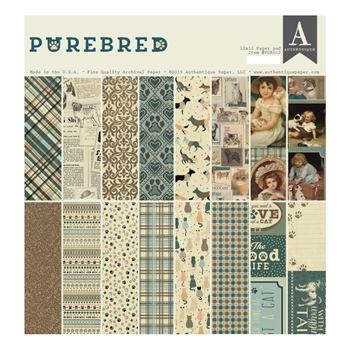 Authentique PUREBRED 12 x 12 Paper Pad pur012