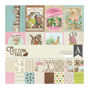 Authentique COTTONTAIL 12 x 12 Collection Kit ctn011