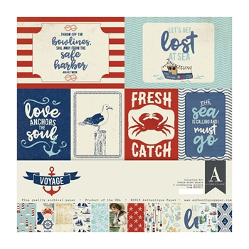 Authentique VOYAGE 12 x 12 Collection Kit voy017