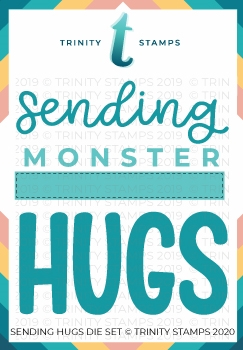 Trinity Stamps SENDING HUGS Die Set tmd013 Preview Image