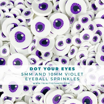 Trinity Stamps DOT YOUR EYES Embellishment Box tzb096
