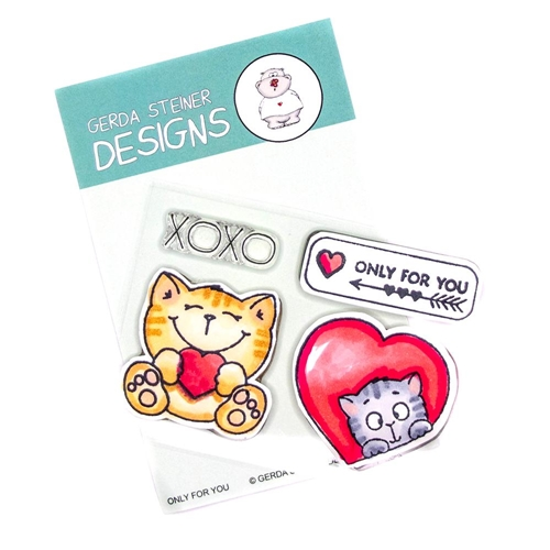Gerda Steiner Designs ONLY FOR YOU Clear Stamp Set gsd717 Preview Image