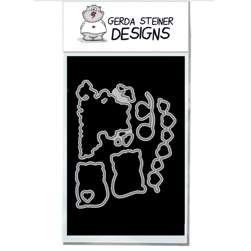 Gerda Steiner Designs VALENTINE CATS Die Set gsd716die Preview Image