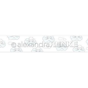 Alexandra Renke BLUE CLOUDS Washi Tape wtarki0006*