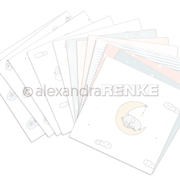 Alexandra Renke LENAS BABY COLLECTION 6x6 Paper b100007