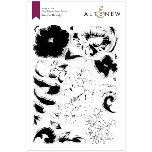 Altenew SIMPLE BEAUTY Clear Stamps ALT3770 Preview Image