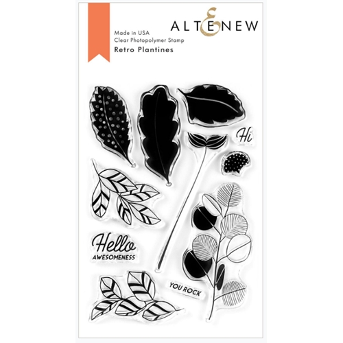 Altenew RETRO PLANTINES Clear Stamps ALT3767 Preview Image