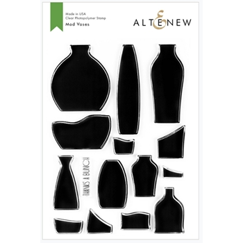 Altenew MOD VASES Clear Stamps ALT3762