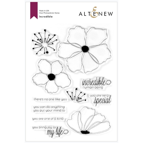 Altenew INCREDIBLE Clear Stamps ALT3757 Preview Image