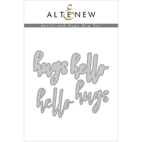 Altenew HELLO AND HUGS Dies ALT3755 Preview Image