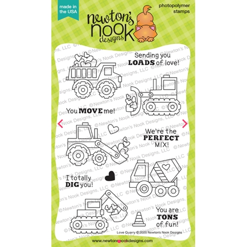 Newton's Nook Designs LOVE QUARRY Clear Stamps NN2001S02 Preview Image