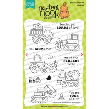Newton's Nook Designs LOVE QUARRY Clear Stamps NN2001S02