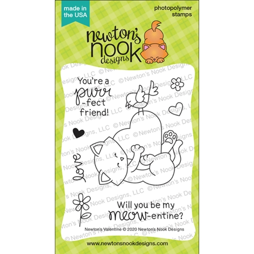 Newton's Nook Designs NEWTON'S VALENTINE Clear Stamps NN2001S04 Preview Image