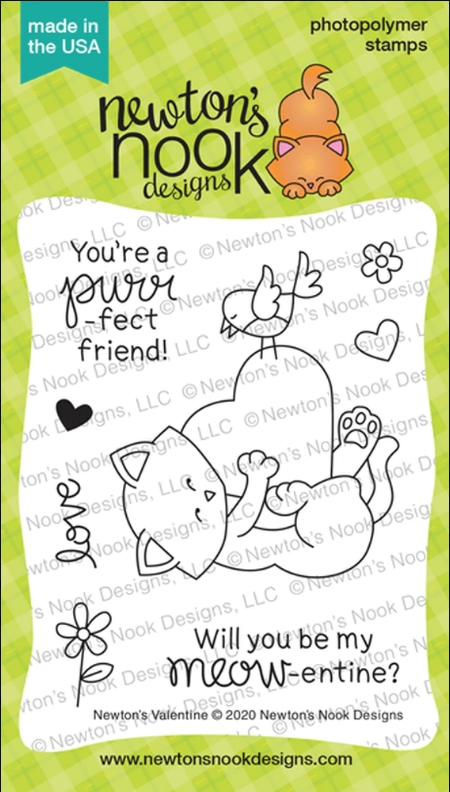 Newton's Nook Designs NEWTON'S VALENTINE Clear Stamps NN2001S04 zoom image