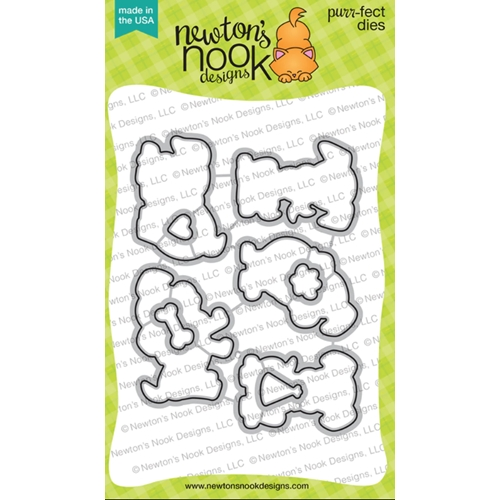 Newton's Nook Designs PUPPY PLAYTIME Dies NN2001D01 Preview Image