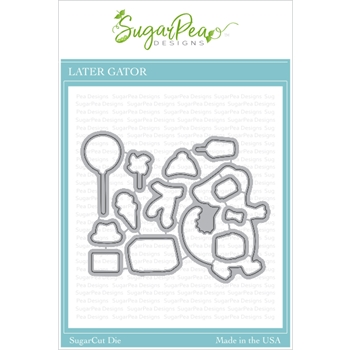 SugarPea Designs LATER GATOR SugarCuts Dies spd00421