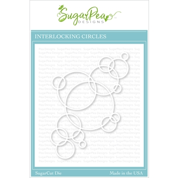SugarPea Designs INTERLOCKING CIRCLES SugarCuts Dies spd00435