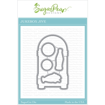 SugarPea Designs JUKEBOX JIVE SugarCuts Dies spd00431