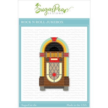SugarPea Designs ROCK N ROLL JUKEBOX SugarCuts Dies spd00432