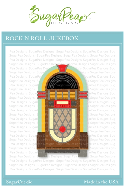 SugarPea Designs ROCK N ROLL JUKEBOX SugarCuts Dies spd00432 zoom image