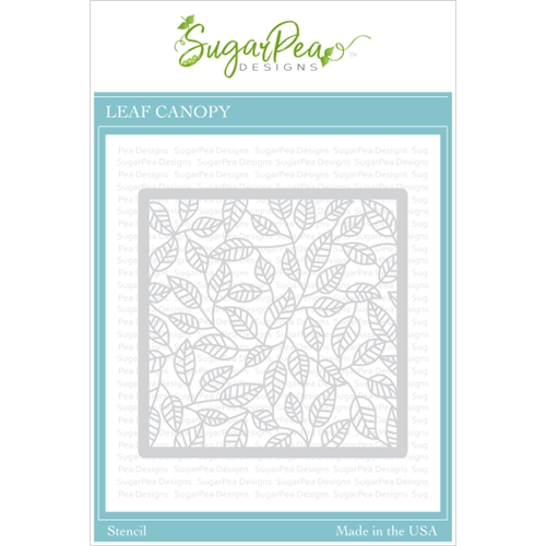 SugarPea Designs LEAF CANOPY Stencil spd00423 Preview Image