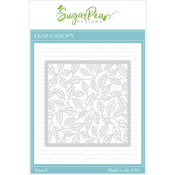 SugarPea Designs LEAF CANOPY Stencil spd00423