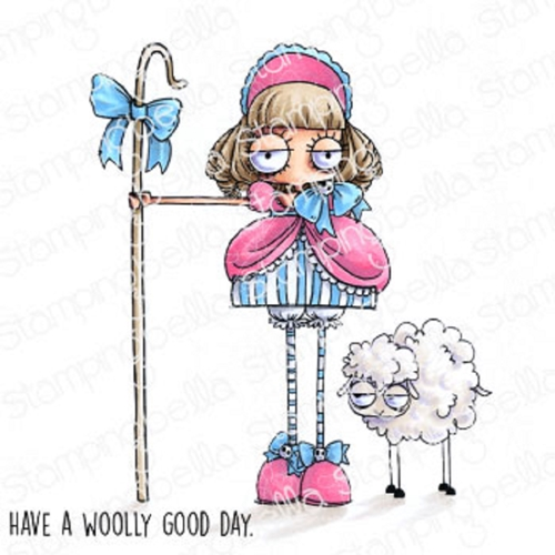 Stamping Bella Cling Stamps ODDBALL LITTLE BO PEEP eb917 Preview Image