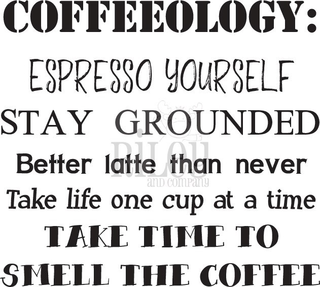 Riley And Company Funny Bones COFFEEOLOGY Cling Rubber Stamp RWD-781 zoom image