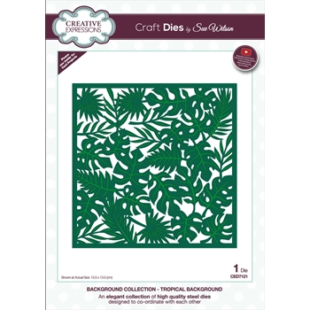 Creative Expressions TROPICAL BACKGROUND Sue Wilson Die ced7121