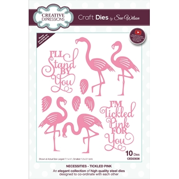 Creative Expressions TICKLED PINK Sue Wilson Dies ced23036