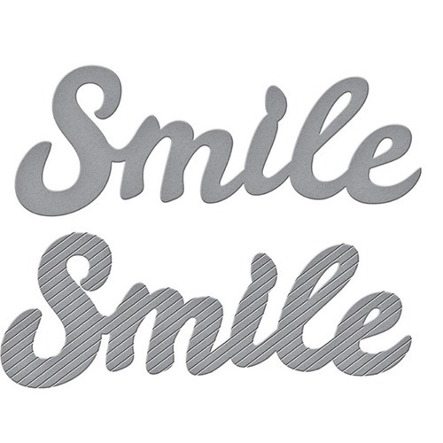 S2 305 Spellbinders BOLD TYPE SMILE Etched Dies* Preview Image