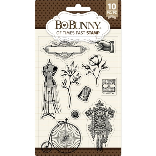 BoBunny OF TIMES PAST Clear Stamps 7311087 Preview Image