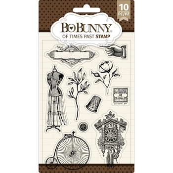 BoBunny OF TIMES PAST Clear Stamps 7311087