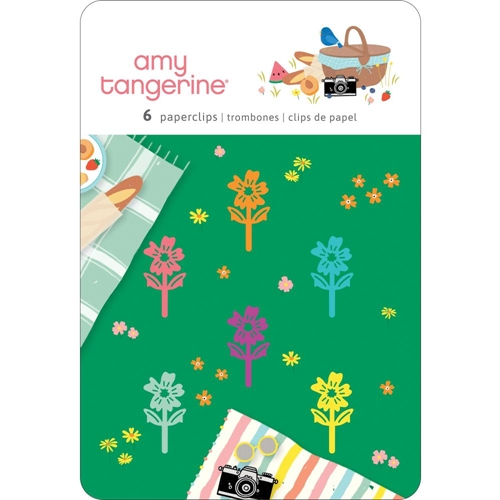 American Crafts Amy Tangerine PAPERCLIPS Picnic In The Park 355387 Preview Image