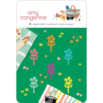 American Crafts Amy Tangerine PAPERCLIPS Picnic In The Park 355387*