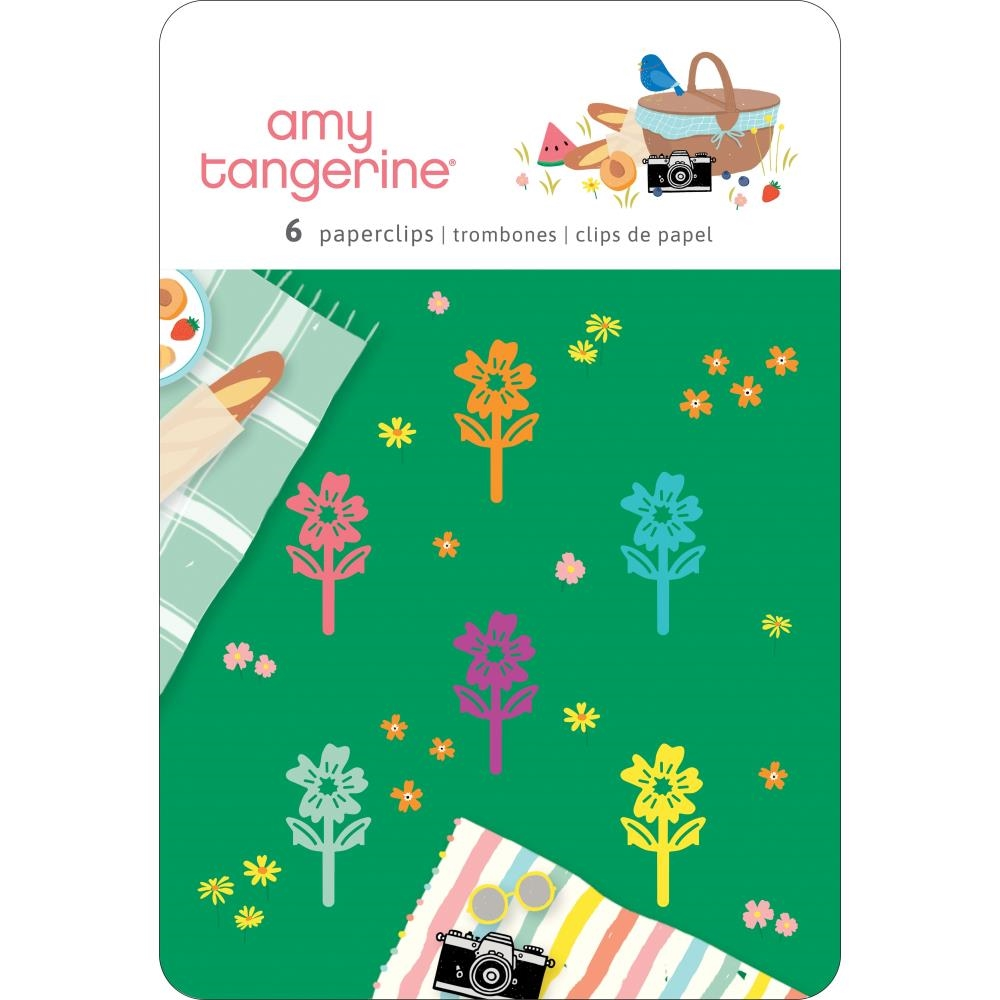 American Crafts Amy Tangerine PAPERCLIPS Picnic In The Park 355387 zoom image