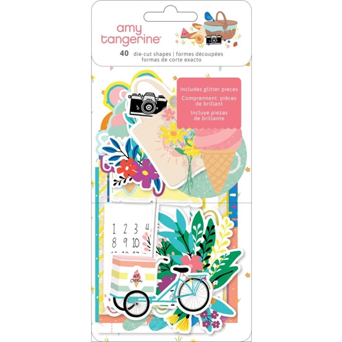 American Crafts Amy Tangerine EPHEMERA Picnic In The Park 355384 Preview Image