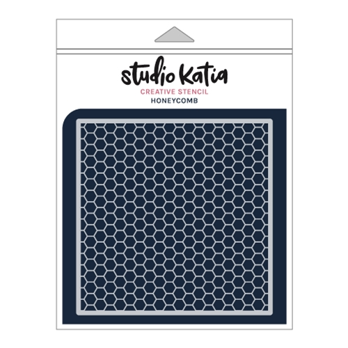 Studio Katia HONEYCOMB Stencil sks025 Preview Image