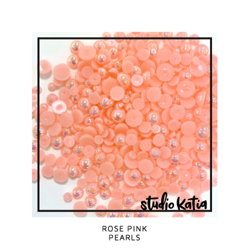 Studio Katia ROSE PINK Pearls sk1120 Preview Image