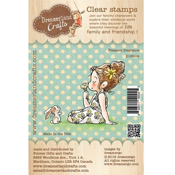 Dreamerland Crafts PLEASANT FRAGRANCE Clear Stamp Set d19004